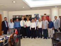Belediye Başkanı Salih Hızlı, Yunusemre Belediye Başkanı Çerçi'yi kabul etti