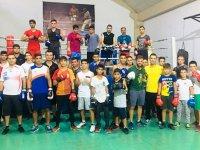 Profesyonel boksör Dündar Yıldız'dan anlamlı ziyaret