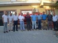 Musalar ve Tütenli Mahallelerine ekipman desteği