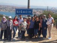 Aybek Turizm, Ege'nin deniz kokan sakin şehri Sığacık'ta