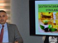 Zeytinyağında İyi Üretim Uygulamaları Toplantısı Yapıldı