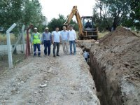 Seyitahmet Mahallesi'ne yeni kanalizasyon hattı