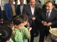 Şehit Serdar Denizer İmam Hatip Ortaokulunda aşure hayrı