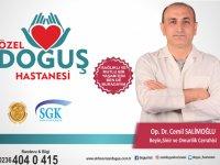 Beyin Cerrahisi Uzmanı Op. Dr. Cemil Salimoğlu, Özel Doğuş Hastanesi'nde