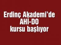 Erdinç Akademi'de AHİ-DO kursu başlıyor