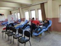 Ayvaz Dede İHO'da kan bağışı kampanyası