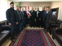 Saadet Partisi ilçe teşkilatından Kaymakam Kaya'ya ziyaret
