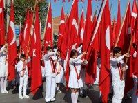 Cumhuriyet Bayramı 95'inci yılı çelenk sunma programı ile başladı