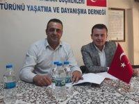 Akhisar Balkan Göçmenleri Derneği de Özel Doğuş Hastanesi'nde