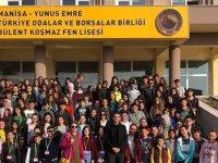 Gazi ortaokulundan lise tanıtım gezisi