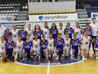 Akhisargücü basketbol kızlarda U-14 liginde ilk maçına çıktı