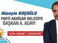 AK Parti Akhisar Belediye Başkan Aday Adayı Hüseyin Koçoğlu
