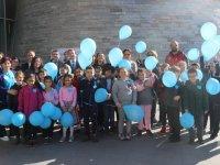 Akhisarlı minik öğrencilerden diyabet etkinliğine anlamlı destek