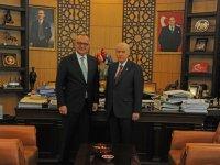Başkan Ergün'ün adaylığı ile ilgili açıklama yaptı