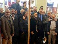 CHP'li aday adayı Tavlı, Hacı İshak Mahallesinde vatandaşlarla bir araya geldi