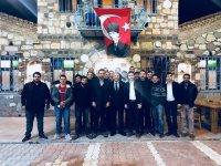CHP Akhisar Belediye Başkan Aday Adayı Tavlı, gençlerle bir araya geldi