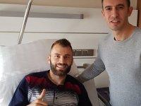 Akhisarsporlu Mustafa Yumlu ameliyat oldu