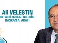 AK Parti Akhisar Belediye Başkan Aday Adayı Ali Velestin