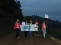 Zinde Yaşam Kulübü ve Akhisar TEMA Vakfı toprak için yürüdü
