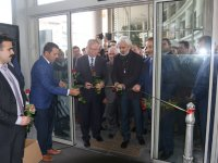 Akhisar'da kırk çizgi kırk hadis sergisi açıldı