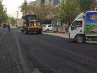 Doğalgaz tamamlandı asfalt başladı