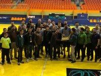 Yeşil Siyah Taraftarlar Derneğinden bir ziyaret de Basketbol takımına