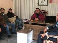 AK Partili Remzi Şekerci, ziyaretlerine Galericiler Sitesinde devam etti