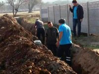 Seyitahmet Mahallesi'nin içme suyu hattı yenilendi