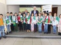 Dereköy ilkokulu öğrencileri şehrini keşfetti