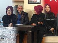 AK Parti A. Adayı Nefise Şükran Füzün'den BAL-GÖÇ, Erzurumlular ve Bayburtlular derneklerine ziyaret
