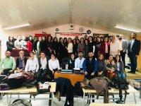 Eksen Lisesinde Öğretmenler Günü coşkuyla kutlandı