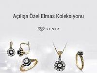 Venta Pırlanta Açılışa Özel Elmas Koleksiyonu