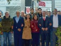 Tavlı, Balkan Göçmenleri derneğini ziyaret etti
