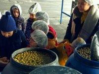 Ahenk Anaokulu öğrencileri, zeytin fabrikası gezisinde