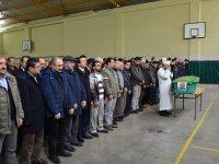 Devlet Hastanesi eski baştabibi Muammer Mertoğlu son yolculuğuna uğurlandı
