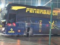Akhisar'ın 3-0 yendiği Fenerbahçe, kara yoluyla İstanbul'a hareket etti