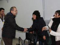 Aday Adayı Ali Velestin'in seçim ziyaretleri sürüyor