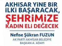 AK Parti Akhisar Belediye Başkan A. Adayı Nefise Şükran Füzün   15. Haber