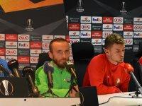 UEFA maçı öncesi Akhisarspor ve Standart Liege takımları değerlendirmelerde bulundu