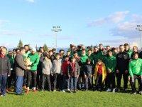 Akhisarspor'a Özel Yüksel Anadolu Lisesinden anlamlı ziyaret