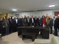 CHP İlçe teşkilatı, ATSO'yu ziyaret etti
