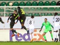 Akhisarspor, Avrupa'ya puanla veda etti