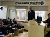 Akhisar Halk Eğitimi  Merkezi  Müdürlüğünde girişimcilikte önce kadın projesi tanıtıldı