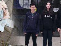 Namık Oğul Anadolu Lisesi öğrencilerinden örnek davranış