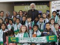 Kayalıoğlu İsmail Keskinoğlu İlkokulu öğrenciler şehrini keşfetti