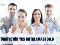 Türkiye'nin yaş ortalaması 30,9