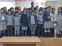 Aykut Çeviker'den Toki Zeytinkent İlkokulu öğrencilerine anlamlı ziyaret