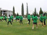 Akhisarspor, Fatih Karagümrük maçı hazırlıklarını tamamladı