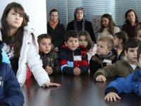 Mecidiyeköy İlkokulu öğrencileri şehrini keşfetti