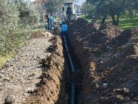 Ulucami'deki yeni yerleşimlere ek kanalizasyon şebekesi